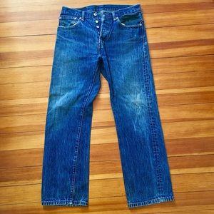 Levi's 501 jeans 32x30
